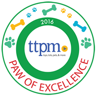 TTPM 2016 Paw of Excellence Award